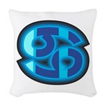 Cancer Symbol Woven Throw Pillow