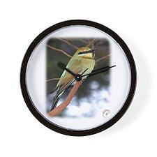 Rainbow Bee Eater 9Y209D-236 Wall Clock