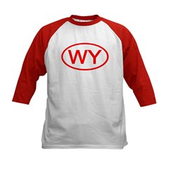 WY Oval - Wyoming Tee