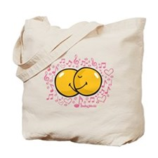 music and love Tote Bag