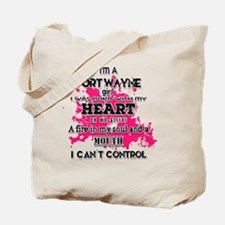 Cute Fort wayne Tote Bag