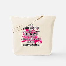 Cute Fort worth girl Tote Bag