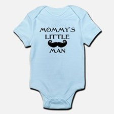 Mommys little man Body Suit