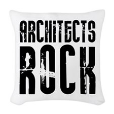 Architects Rock Woven Throw Pillow