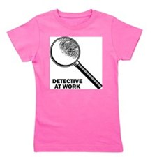 Detective At Work Girl's Tee