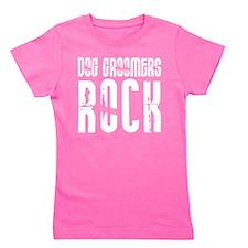 Dog Groomers Rock Girl's Tee