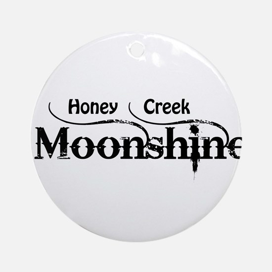 Honey Creek Moonshine Ornament (Round)