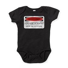 Forensic Scientist Baby Bodysuit