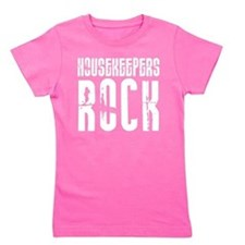 Housekeepers Rock Girl's Tee