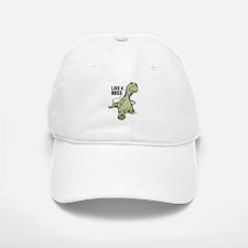 Like a Boss Dinosaur T Rex Baseball Baseball Cap