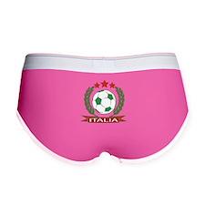 Retro Italian soccer design Women's Boy Brief