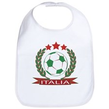 Retro Italian soccer design Bib