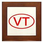 VT Oval - Vermont Framed Tile