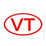 VT Oval - Vermont Postcards (Package of 8)