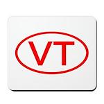 VT Oval - Vermont Mousepad