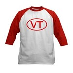 VT Oval - Vermont Kids Baseball Jersey