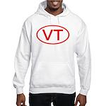 VT Oval - Vermont Hooded Sweatshirt