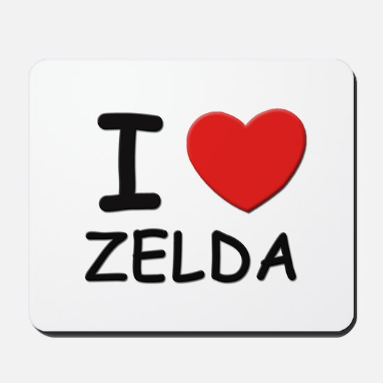 I love Zelda Mousepad