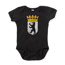 Berlin Coat Of Arms Baby Bodysuit