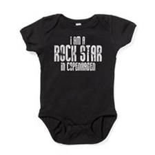 Rock Star in Copenhagen Baby Bodysuit