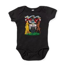 Edinburgh Coat Of Arms Baby Bodysuit