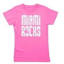 Miami Rocks Girl's Tee