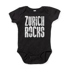 Zurich Rocks Baby Bodysuit