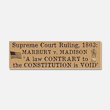 Marbury v. Madison Car Magnet 10 x 3