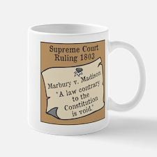 Marbury v. Madison Mug