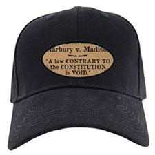 Marbury v. Madison Baseball Hat
