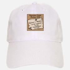 Marbury v. Madison Baseball Baseball Cap