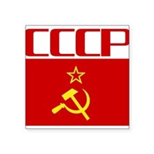 "Cool CCCP Square Sticker 3"" x 3"""