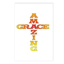 Amazing Grace Postcards (Package of 8)