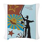 Revolution Woven Throw Pillow