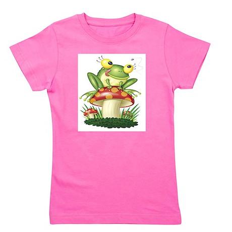 Frog Toad stool Girl's Tee