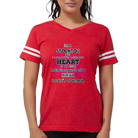I'm a Stockton Girl Womens Football Shirt