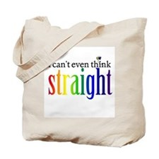 i can't even think straight Tote Bag