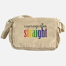 i can't even think straight Messenger Bag