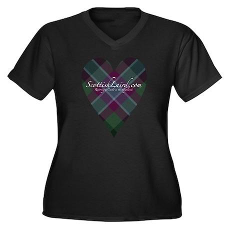 ScottishLaird Heart Plus Size T-Shirt