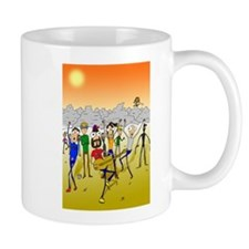 The Cutting Edge Cartoon Small Mug