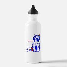 Funny Hello Meoow Water Bottle