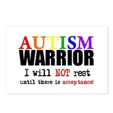 Autism Warrior Postcards (Package of 8)