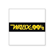 Detroit Radio WABX 99.5 Sticker