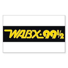 Detroit Radio WABX 99.5 Decal