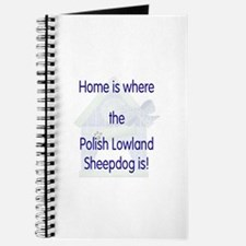 Home...Polish Lowland Sheepdog is Journal
