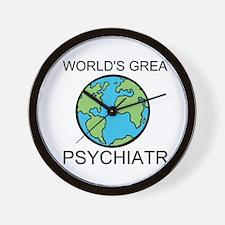 Worlds Greatest Psychiatrist Wall Clock