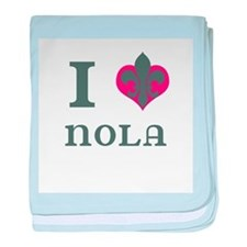 I Heart NOLA baby blanket