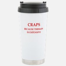 craps Travel Mug