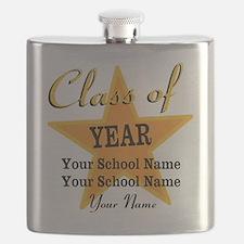 Custom Graduation Flask