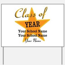 Custom Graduation Yard Sign